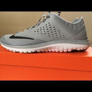 Men's new gray NIKE running shoes